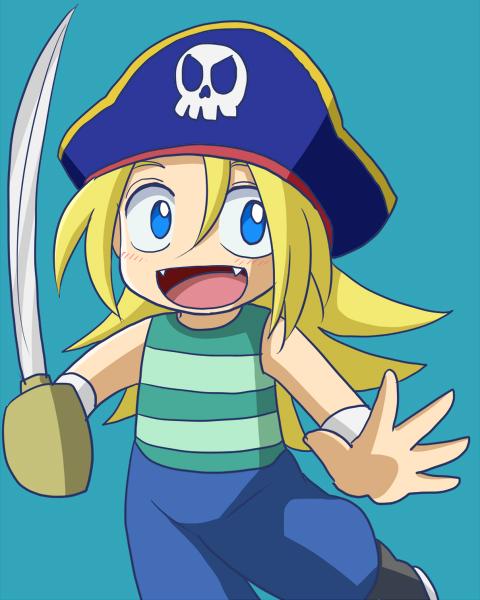 キャプテン・ブルー(海賊見習い時代)